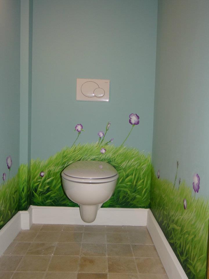 Bloemen in het kleinste kamertje