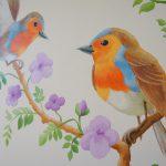 Vogeltjes-detail
